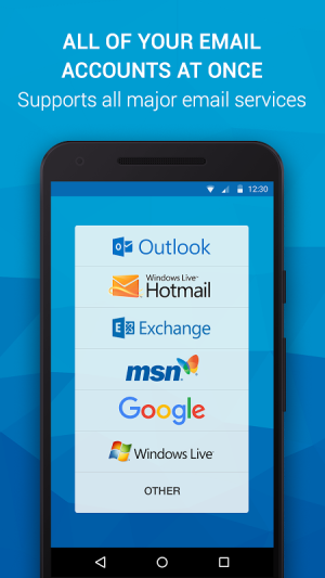 Email App for Outlook & others 5.6.0.21518 Screen 1