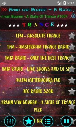 Electronic Dance Radio ZXSoft 14.04 Screen 2