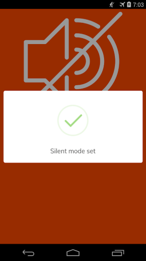 Android Silent Mode 🔕 Screen 6