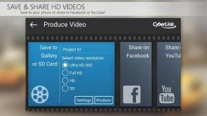 PowerDirector Video Editor App: 4K, Slow Mo & More 6.2.1 Screen 5