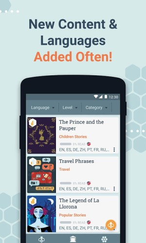 Beelinguapp: Learn Languages Music & Audiobooks 2.377 Screen 9