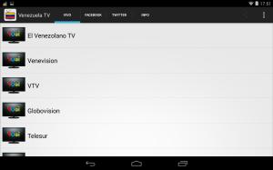 Android Venezuela Television Screen 1