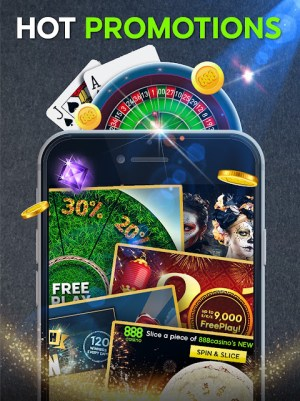 Android 888 Casino: Slots, Live Roulette & Blackjack Games Screen 6