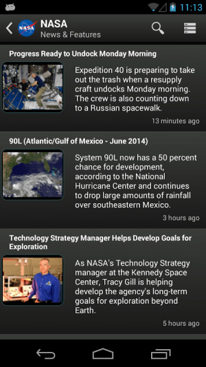 NASA App 1.57 Screen 14