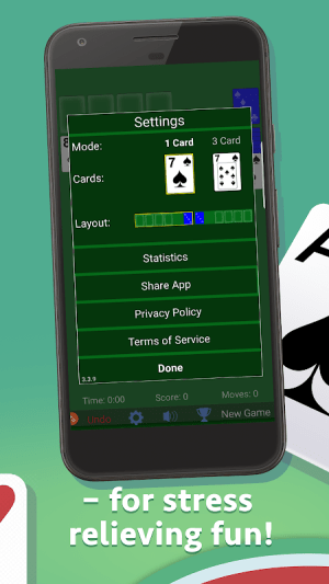 Solitaire 3.5.2.2 Screen 1