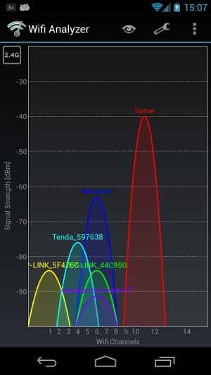 Wifi Analyzer 3.1.2 Screen 5