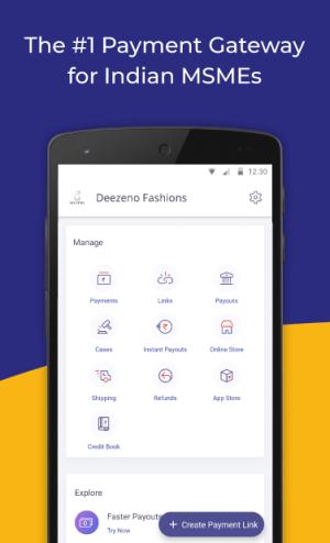 Instamojo - #1 Business App for MSMEs in India 4.8.0 Screen 1