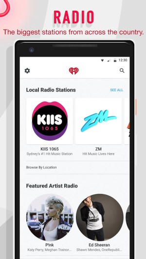 iHeartRadio - Free Music, Radio & Podcasts 9.5.1 Screen 12