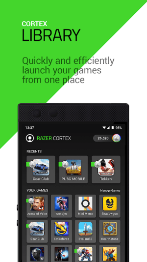 Razer Cortex 4.6.276 Screen 2
