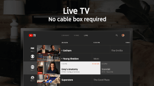 YouTube TV - Watch & Record Live TV 1.09.04 Screen 2