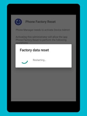 Phone Factory Reset 1.7 Screen 8