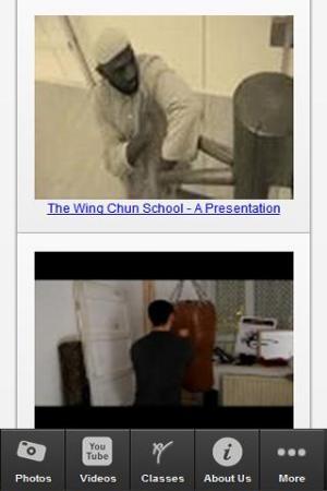 The Wing Chun School 1.05 Screen 2