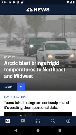 NBC News: Breaking News, US News & Live Video 6.0.7 Screen 14