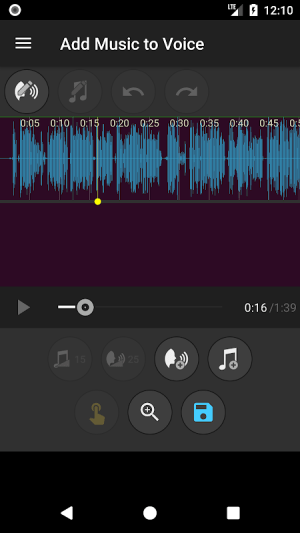 Add Music to Voice 2.0.4c Screen 1