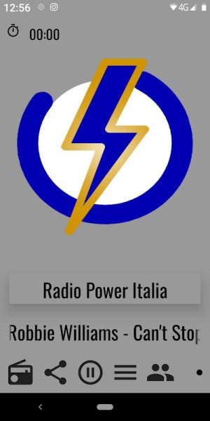Android RADIO POWER ITALIA Screen 2