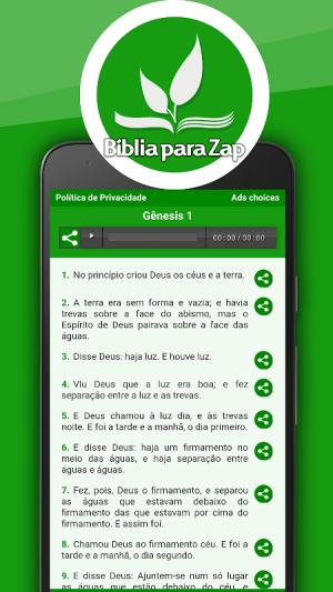 Bíblia para Zap 27.0 Screen 6