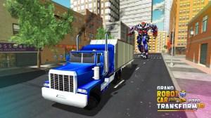 Grand Robot Car Transform 3D Game 1.32 Screen 1