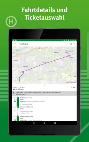 VRR-App - Fahrplanauskunft 5.37.14418 Screen 9