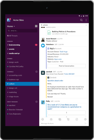 Slack 2.49.0 Screen 6