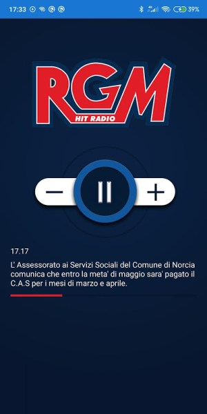 Android RGM Hitradio Screen 1