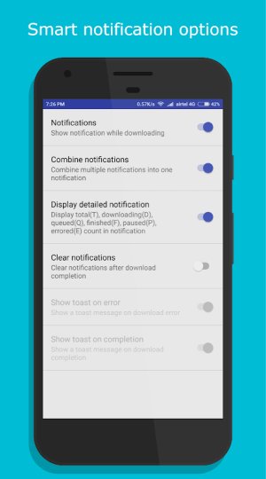 Android IDM+: Fastest Music, Video, Torrent Downloader Screen 7