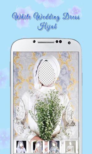 White Wedding Dress Hijab 1.3 Screen 3