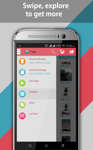 Android File Explorer and File Manager Screen 9
