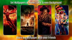Awesome Movie Wallpapers S20 - HD / 4K Posters 2.08 Screen 4