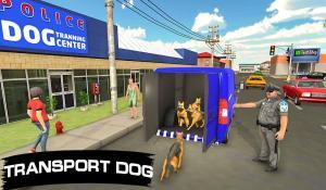 Police Dog Transport Truck Driver Simulation 3D 1.14 Screen 6