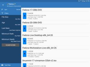 BiglyBT, Torrent Downloader Client 1.3.2.0 Screen 6