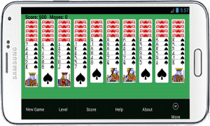 Spider Solitaire Free Game 6.0 Screen 6