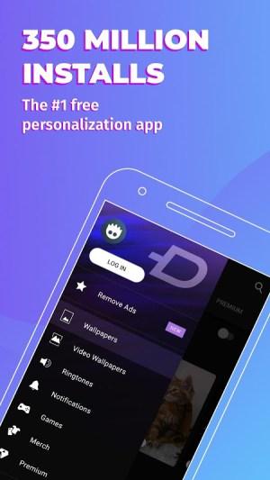 Android ZEDGE™ Wallpapers & Ringtones Screen 2