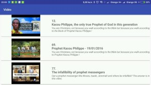 Prophet Kacou Philippe (Official) 5.9.0 Screen 12