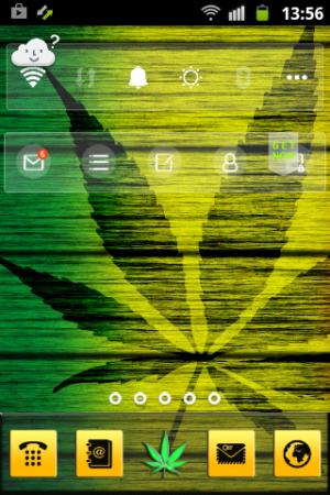 Weed Reggae HD GO Launcher 3.13 Screen 2