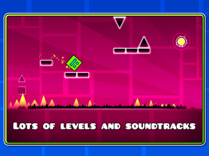 Android Geometry Dash Screen 1
