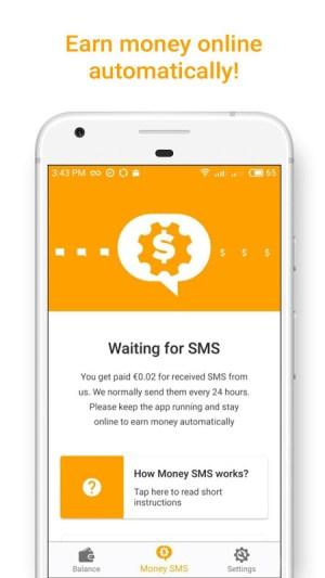 Money SMS   Make Money Online 1.0.3-demo Screen 7