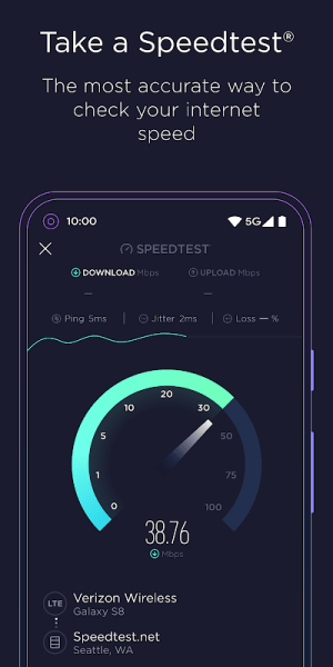 Speedtest by Ookla 4.5.32 Screen 3