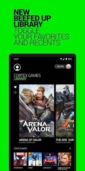 Razer Cortex Games 5.1.518 Screen 5