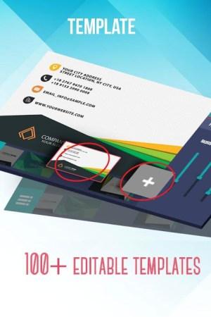 Business Card Maker & Creator 2.2.0 Screen 1