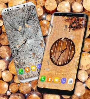 Wood Live Wallpaper ⭐ Sawdust Wallpapers 6.7.13 Screen 1
