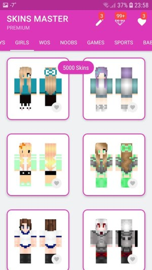Android Skins MASTER for MINECRAFT (30 000 Skins) + Editor Screen 6