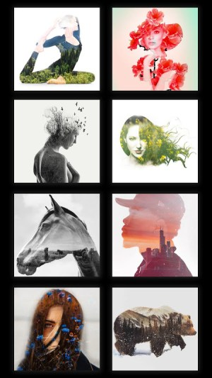 Blend Photo Editor - Artful Double Exposure Effect 3.3 Screen 1