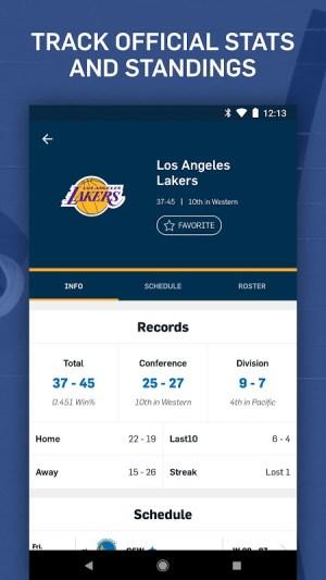 NBA: Live Games & Scores 3.1.4 Screen 4