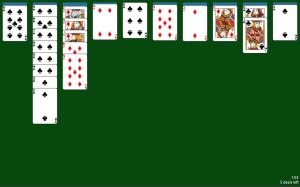 Spider Solitaire 1.05 Screen 4