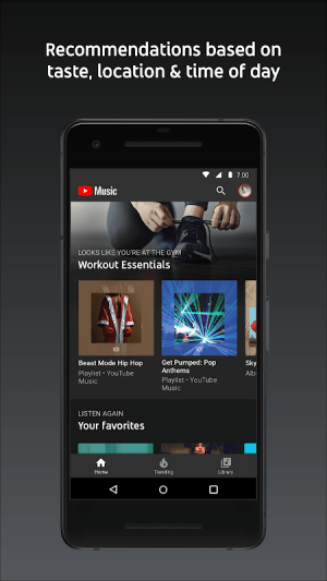 YouTube Music - stream music and play videos 3.23.52 Screen 1