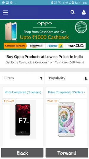 Phones Sales 1.0 Screen 2