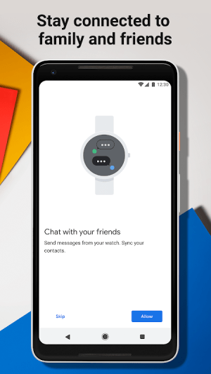 Wear OS by Google Smartwatch (was Android Wear) 2.10.0.188487362 Screen 3