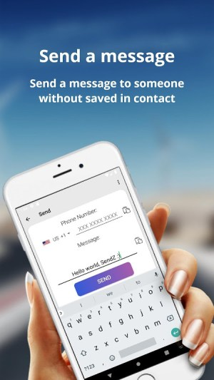Android SendZ   #1 Best Direct Message Sender Screen 5