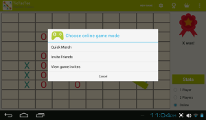 Android Tic Tac Toe Screen 12