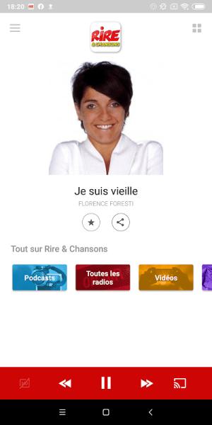 Rire & Chansons Radio 6.0.0 Screen 11
